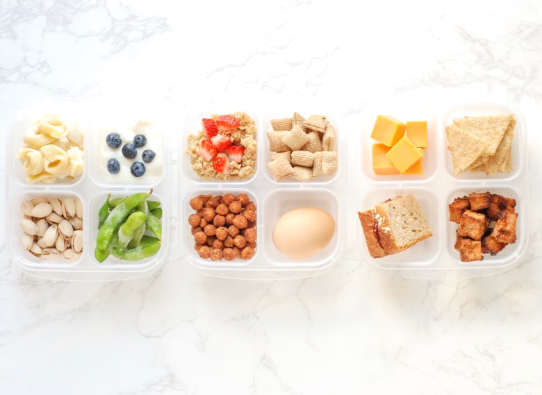 Protein in lunch boxes