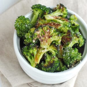 Easy Crispy Broccoli (Kid Tested + Approved!)