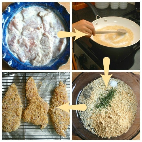 Rosemary Oven-Fried Chicken -- Real Mom Nutrition