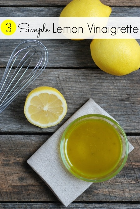 4 Homemade Vinaigrette Dressings -- Real Mom Nutrition