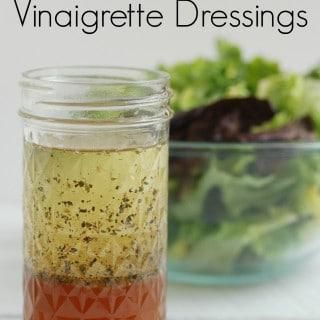 4 Homemade Vinaigrette Dressings -- Real Mom Nutrition