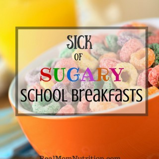 Sick Of Sugary School Breakfasts