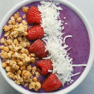 Wild Blueberry Blast Smoothie Bowl