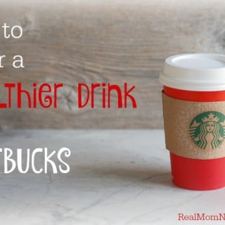 How to Order a Healthier Drink at Starbucks