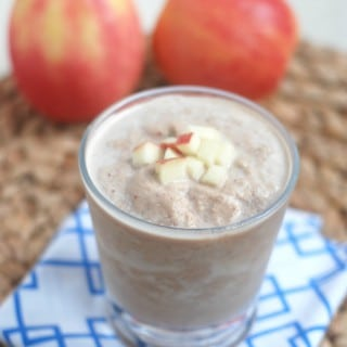 Chocolate Peanut Butter Apple Smoothie
