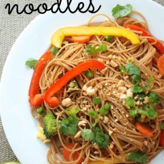 Quick Veggie Stir-Fry With Noodles