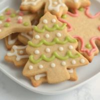 Whole Wheat Sugar Cookies with Naturally Colored Frosting