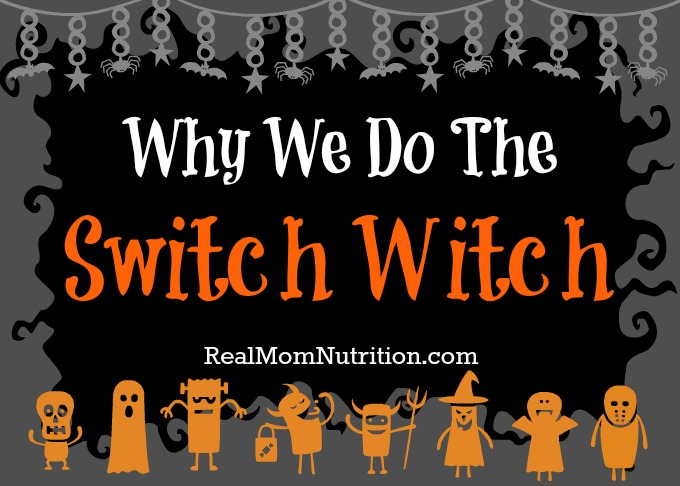 How the Switch Witch helps us manage candy at Halloween