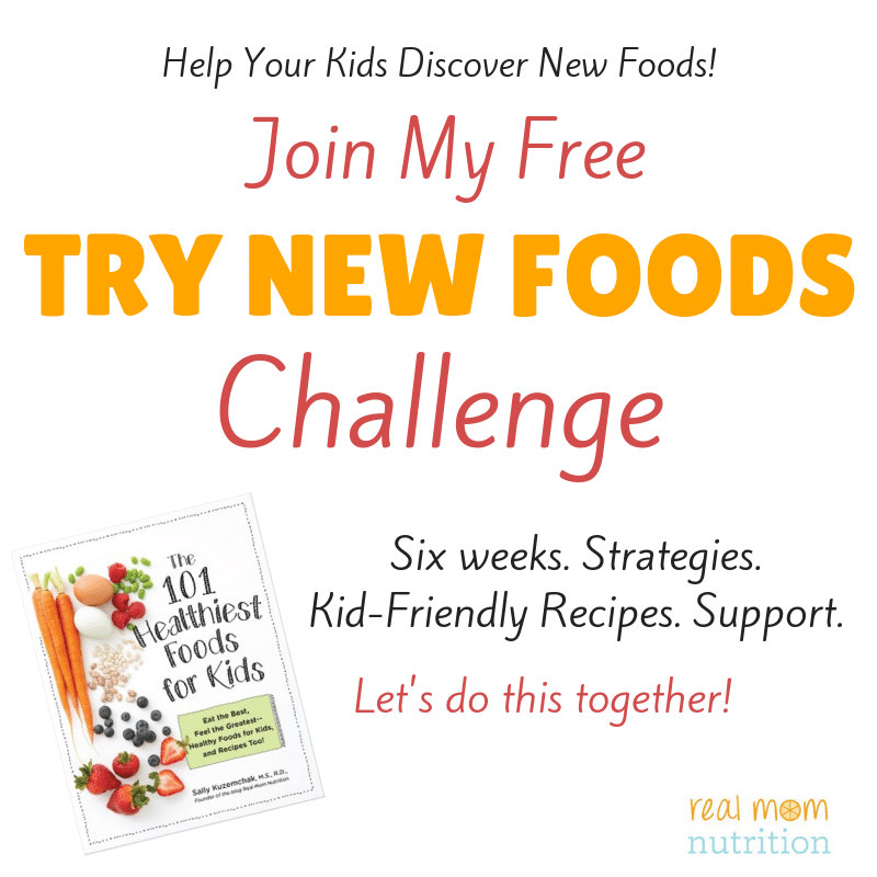 TRY NEW FOODS CHALLENGE