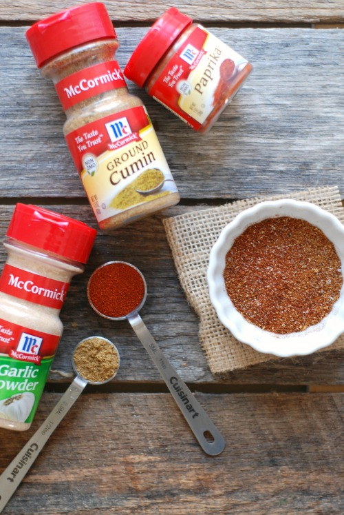 Make Your Own Homemade Taco Seasoning Mix