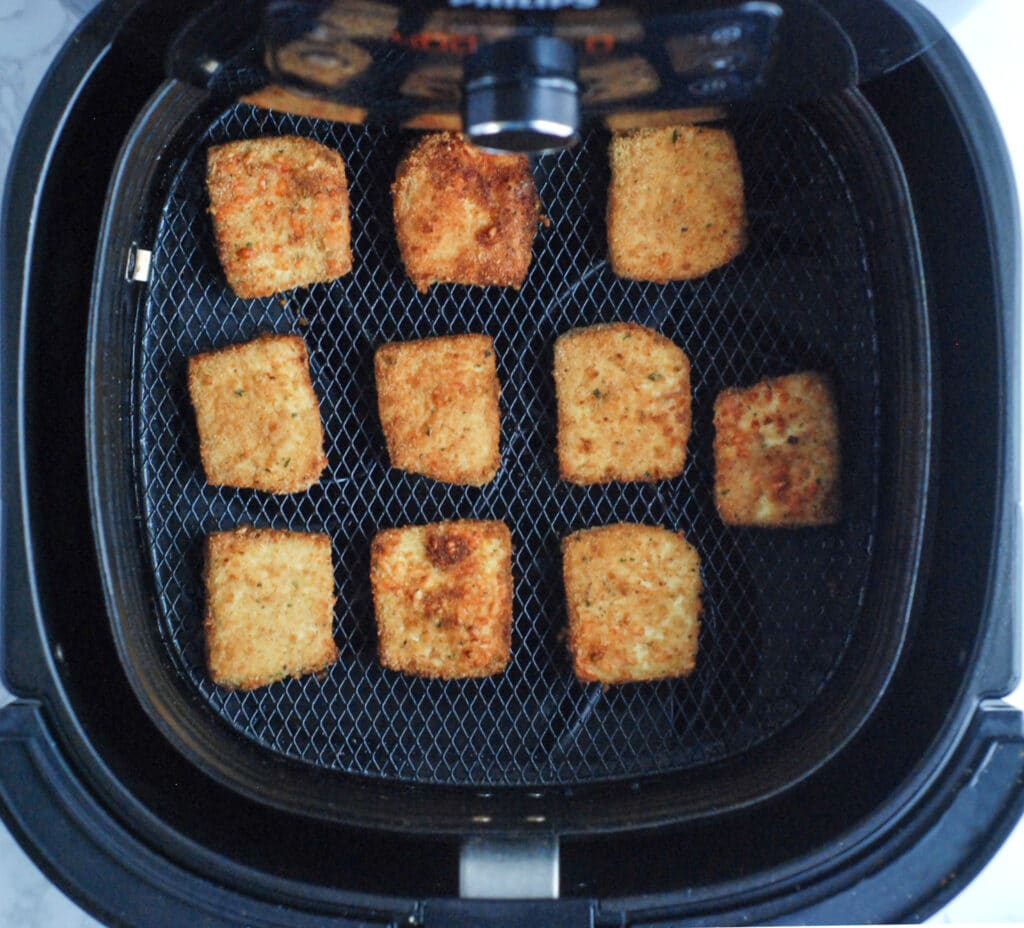 Tofu Nuggets in the Air Fryer