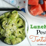 Lunch Box Pesto Tortellini -- Real Mom Nutrition