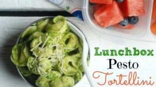 Lunchbox Pesto Tortellini