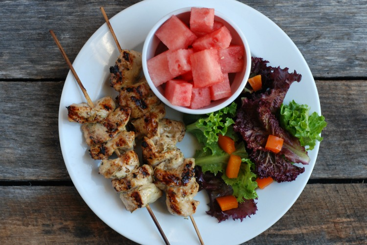 Grilled Turkey Kebabs