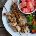 Grilled Turkey Kebabs