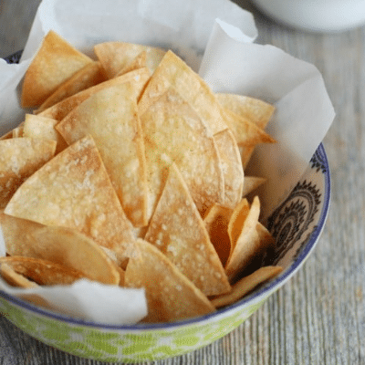 How To Make Crispy Crunchy Homemade Baked Tortilla Chips