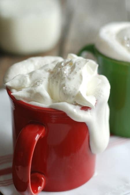 Copy Cat Starbucks Vanilla Steamer