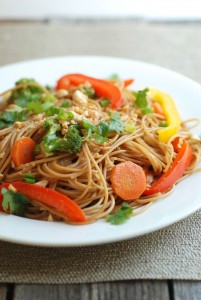 Quick Veggie Stir-Fry With Noodles