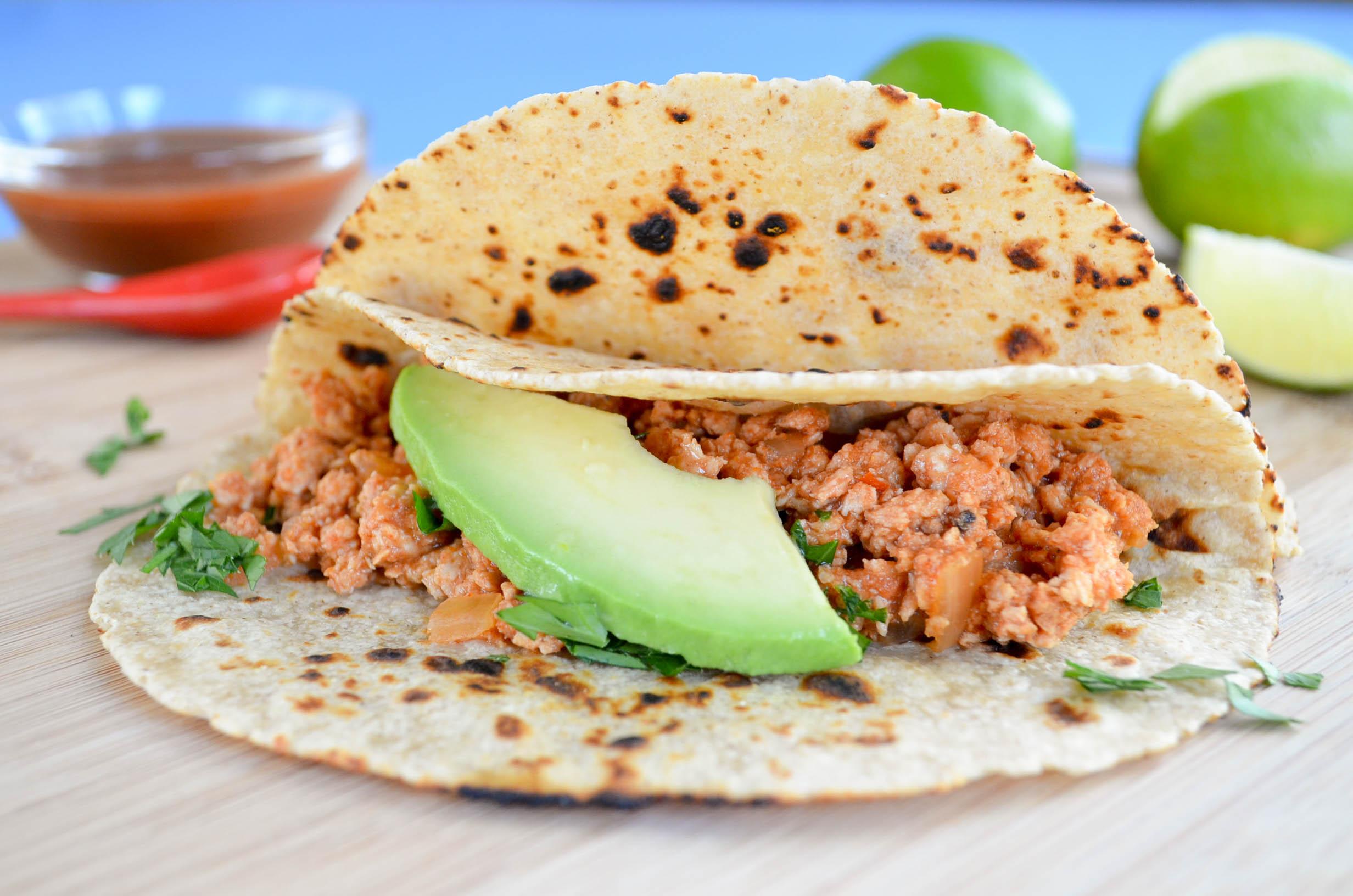 Slow Cooker Turkey Tacos