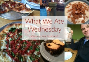 What We Ate Wednesday