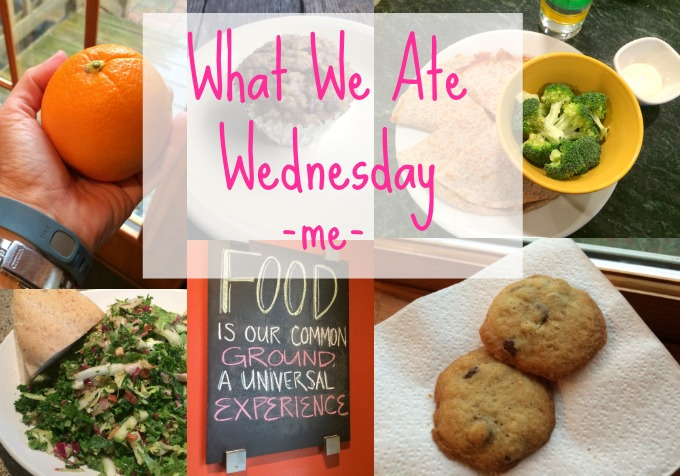 What We Ate Wednesday Starring Me -- Real Mom Nutrition