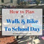 Walk and Bike To School Day