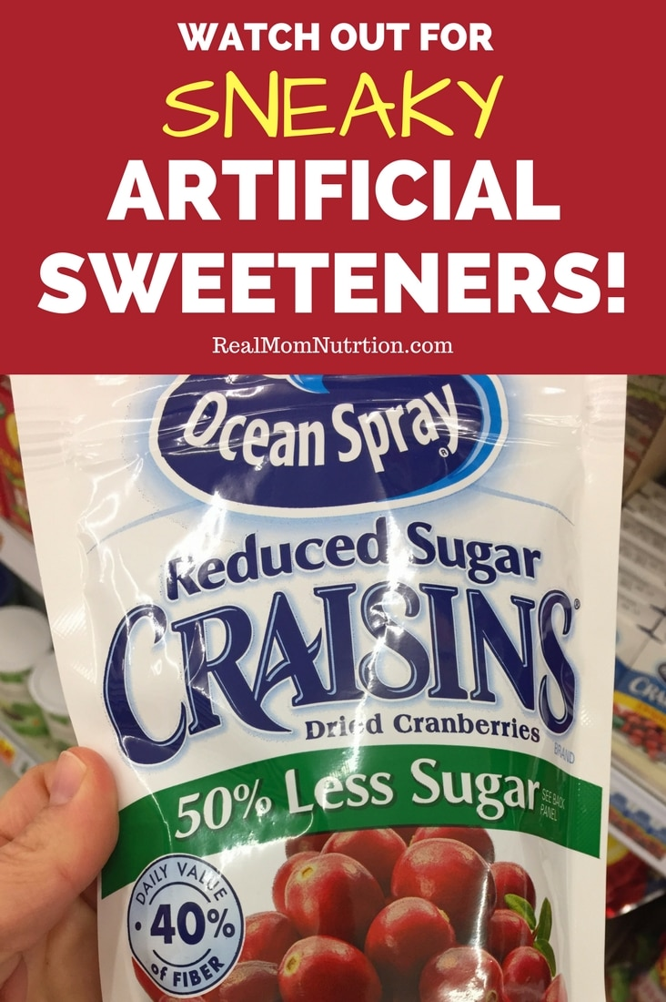 10 surprising products that contain artificial sweeteners: