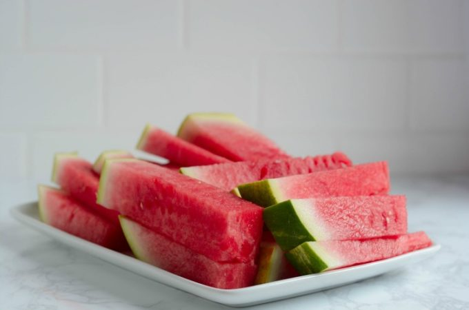 How to Cut Watermelon Into Sticks