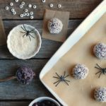 Boo-Berry Snack Balls for Halloween