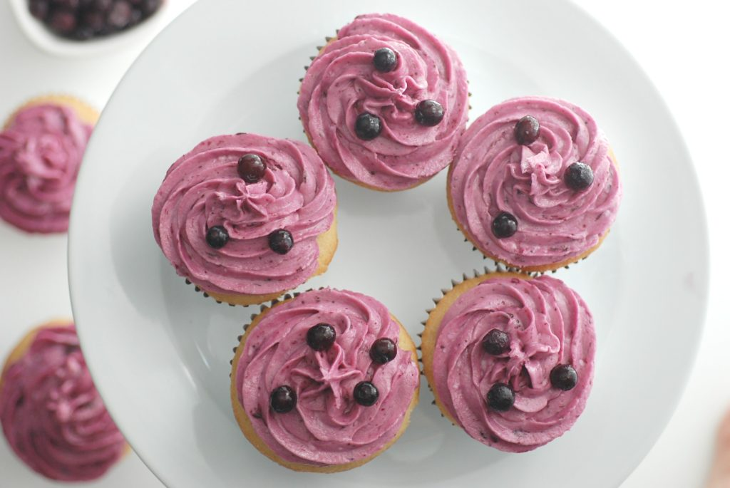 Wild Blueberry Frosting