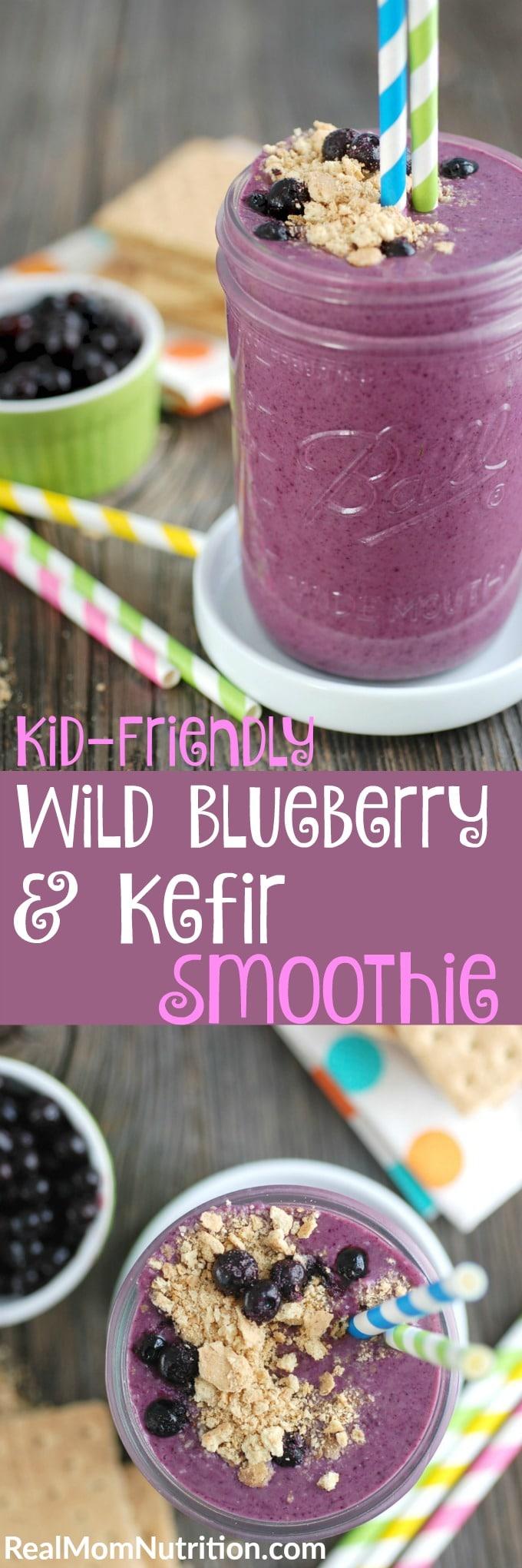 Wild Blueberry Smoothie