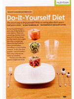 The Do-It-Yourself Diet