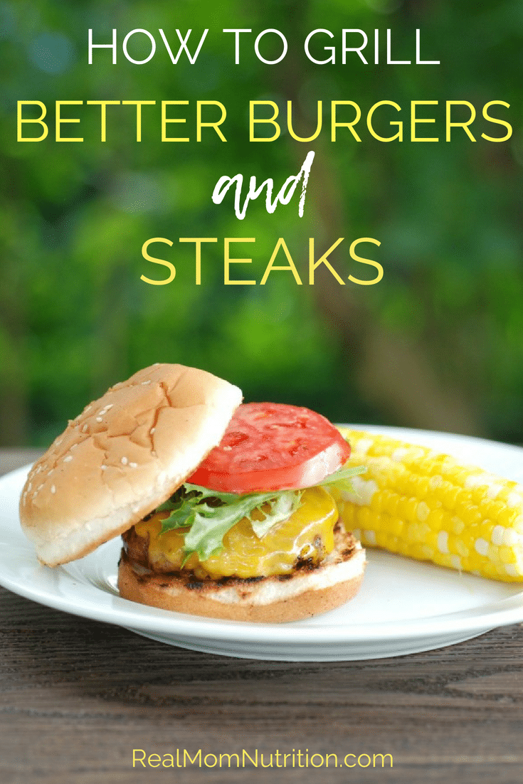 How to Grill Better Burgers and Steaks