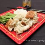 Chicken & Cabbage Potstickers